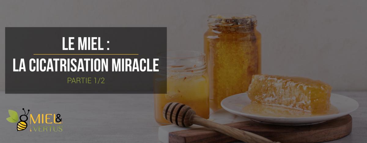 Le miel : la cicatrisation miracle (1/2)