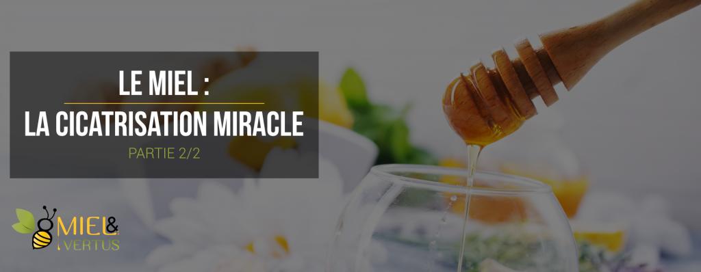 Le miel : la cicatrisation miracle (2/2)
