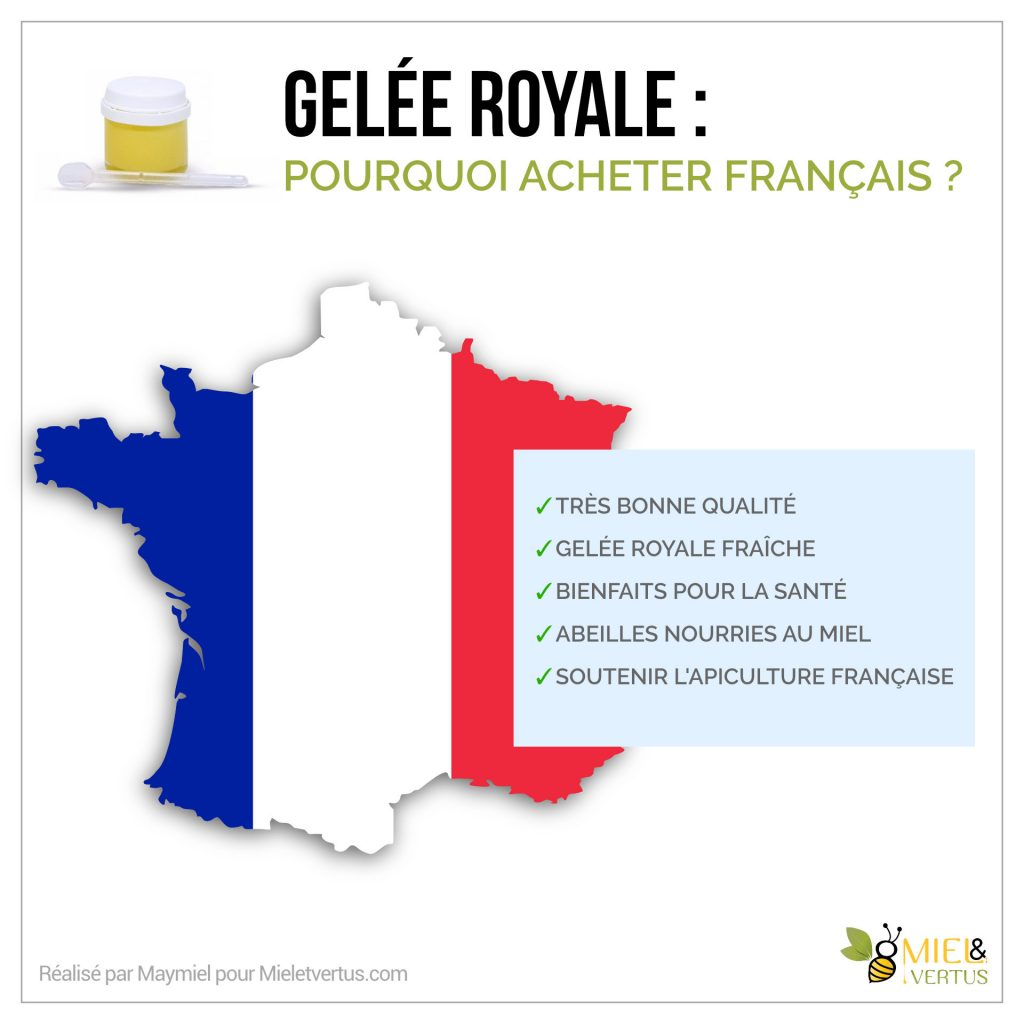 Gelée royale : Bienfaits, Cure, Production & Conservation [Guide complet] 4